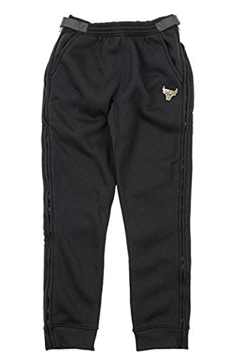Zipway NBA Men's Chicago Bulls Gold Accent Track Pants, Black