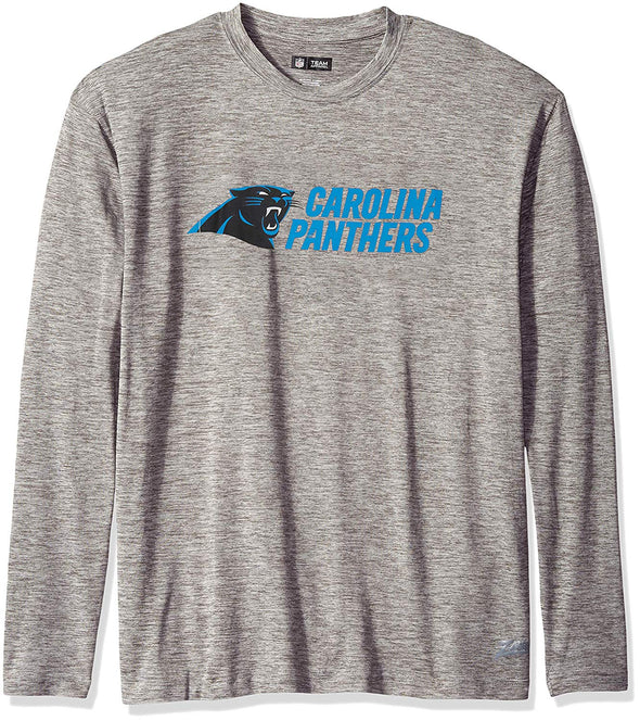 Zubaz NFL Men's Carolina Panthers Long Sleeve Tee