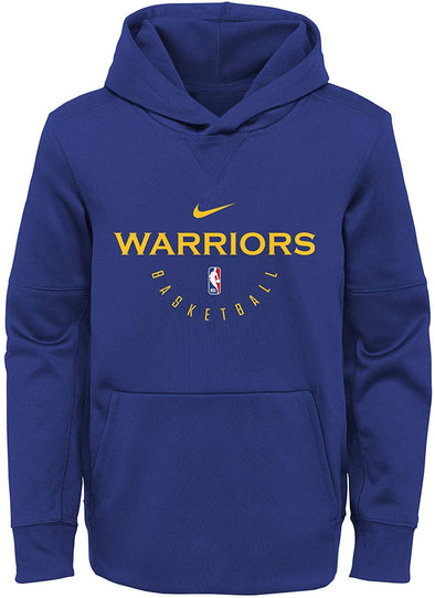 Nike NBA Basketball Youth Golden State Warriors Spotlight Pullover Hoodie