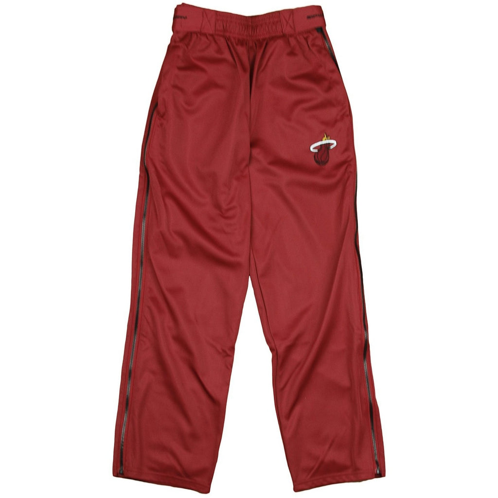 Zipway NBA Basketball Youth Miami Heat Tear-Away Track Pants, Red