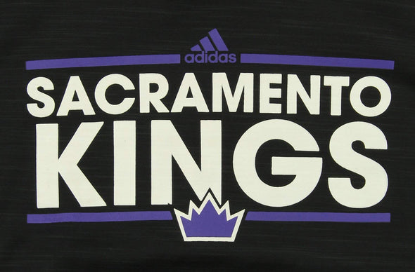 Adidas NBA Youth Sacramento Kings Fleece Hoodie, Black