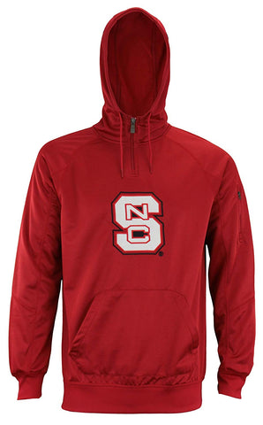 "Outerstuff Men's NCAA North Carolina State Wolfpack ""Fan Basic"" 1/4 Zip Hoodie"