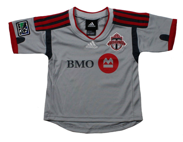 Adidas MLS Soccer Infants Toronto FC Away Replica Jersey Shirt - Gray