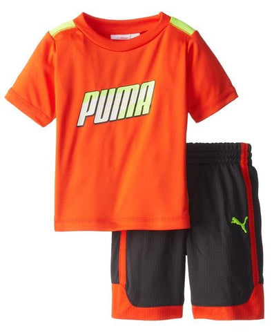 Puma Infants / Toddlers / Kids Formstripe Perf Jersey Shirt & Shorts Set, 2 Colors