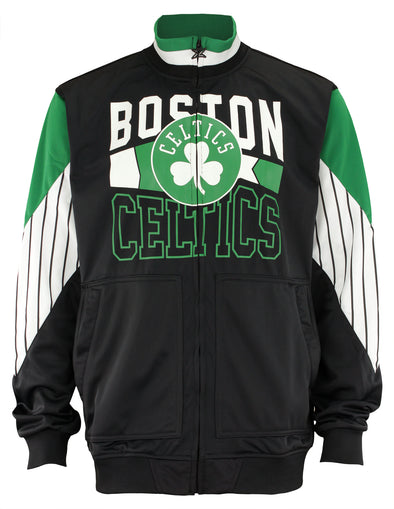 Zipway Men's Basketball NBA Boston Celtics Track Jacket