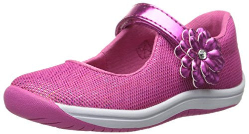 Stride Rite Toddler Haylie Mary Jane Slip On Shoe, Pink
