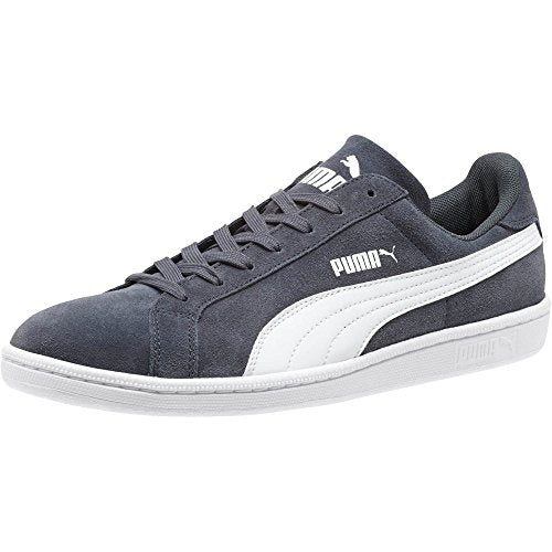 PUMA Men's Smash Leather Classic Fashion Shoe Sneaker, Navy