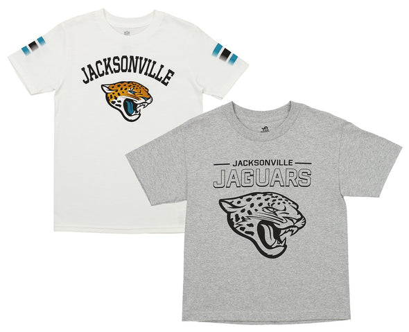 Outerstuff NFL Youth Jacksonville Jaguars Short Sleeve Tee Combo