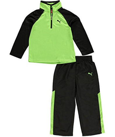 Puma Kids Speeding Glow 2-Piece Outfit - Jasmine green