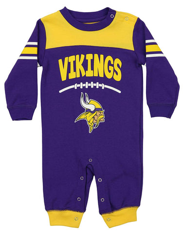 Outerstuff NFL Infants Minnesota Vikings Cover 2 Coverall eb49c85ec