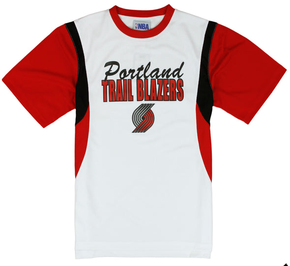 NBA Kids / Youth Portland Trail Blazers PlayDry Tee - White / Red