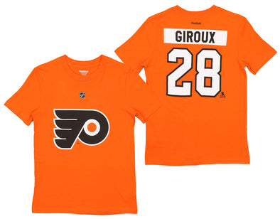Reebok NFL Youth Philadelphia Flyers Claude Giroux #28 Premier Tee Shirt