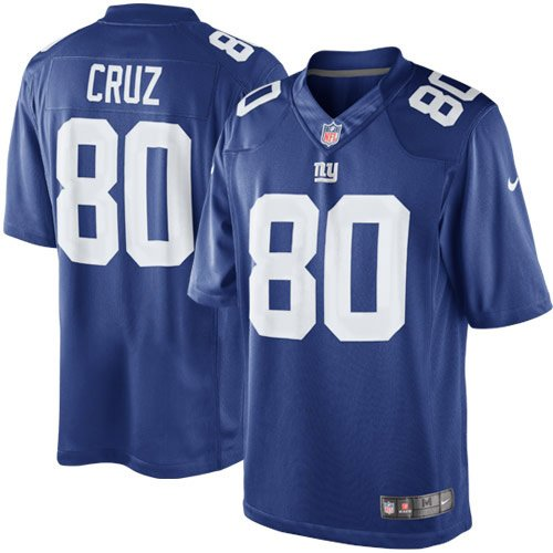 a6be54e3 Nike NFL Youth New York Giants Victor Cruz #80 Limited Team Jersey