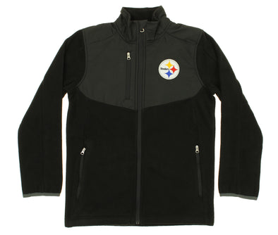 NFL Youth Pittsburgh Steelers Tactical Polar Fleece Full-Zip Jacket