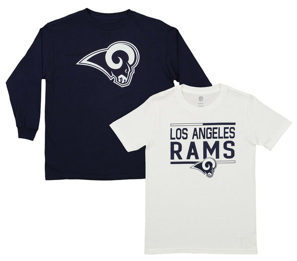 Outerstuff NFL Youth Los Angeles Rams Tee Shirt Combo