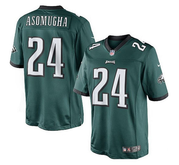 Philadelphia Eagles Nnamdi Asomugha #24 NFL Youth Jersey, Green