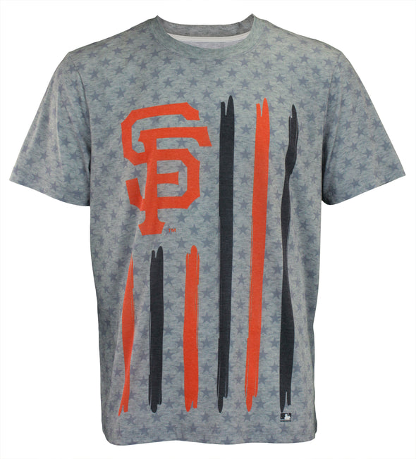 Forever Collectibles MLB Men's San Francisco Giants Big Logo Flag Tee