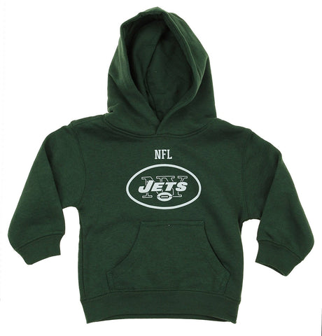NFL Toddlers New York Jets Team Logo Pullover Hoodie