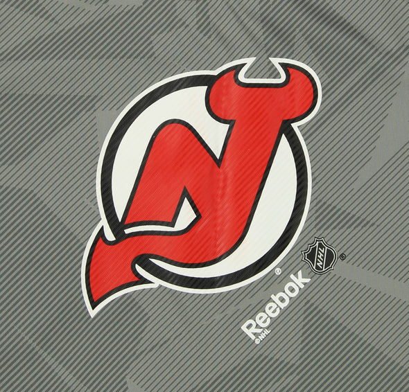 Reebok NHL Youth New Jersey Devils Short Sleeve TNT Frost Logo Tee, Gray