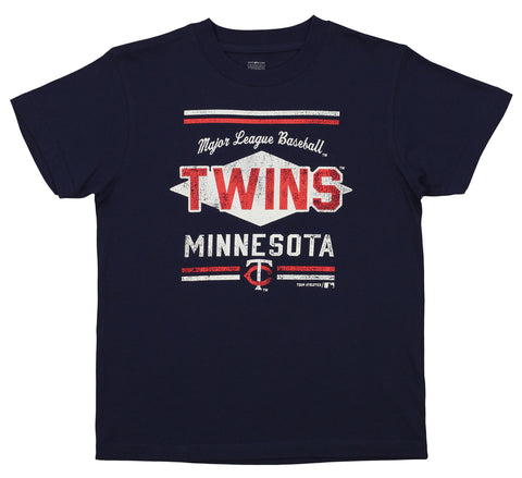 Outerstuff MLB Youth Minnesota Twins Short Sleeve Major League Baseball Tee