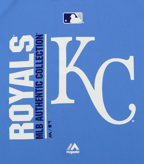 Majestic MLB Youth Kansas City Royals Short Sleeve AC Team Icon Tee