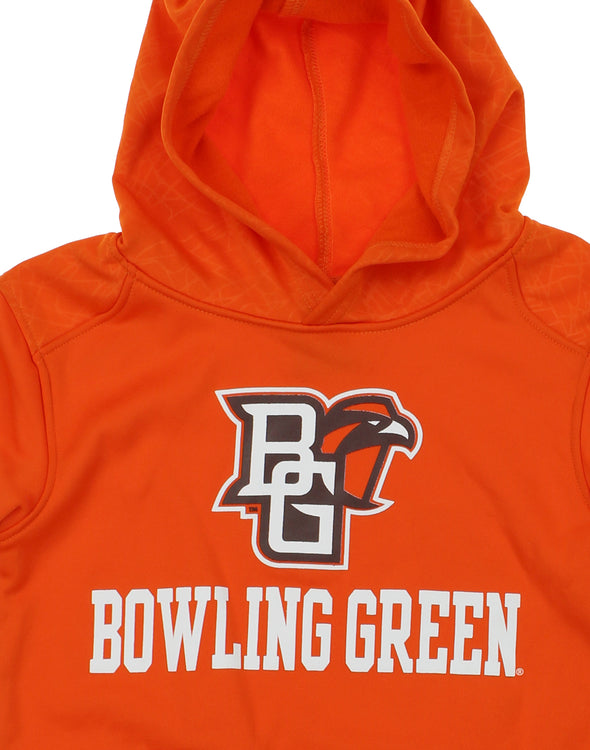 NCAA Youth Bowling Green Falcons Performance Hoodie, Orange
