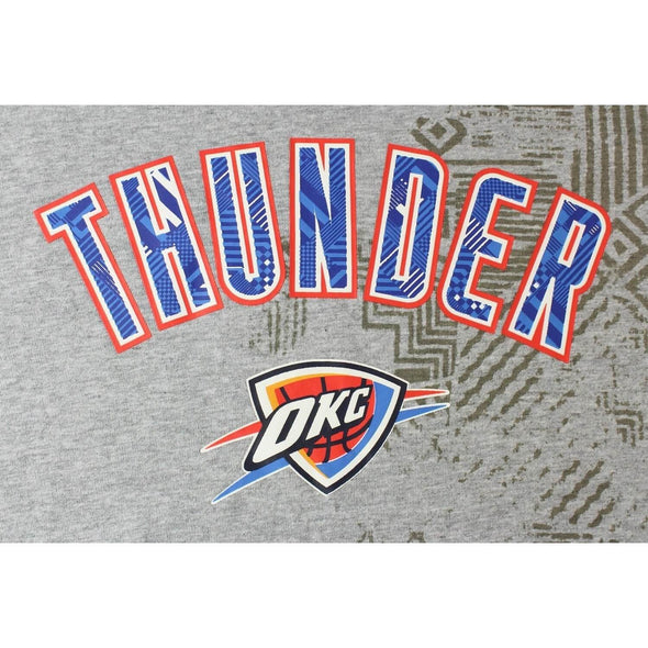 Zipway NBA Men's Oklahoma City Thunder Run Over T-Shirt, Grey
