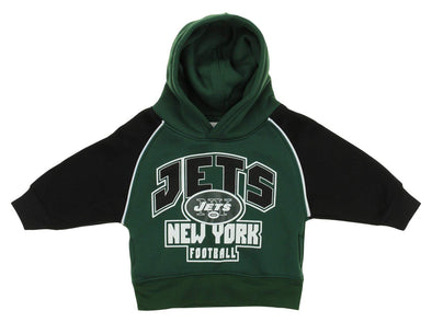 OuterStuff NFL Infant/ Toddlers New York Jets Pullover Fleece Hoodie