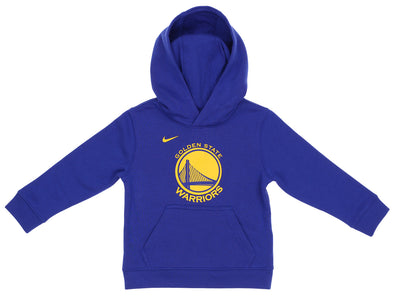 Nike NBA Kids Golden State Warriors Essential Pullover Hoodie, Blue