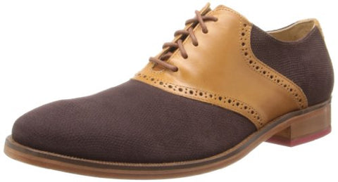 Cole Haan Men's Colton Saddle Welt Oxfords Shoes - Coffee / Woodbury