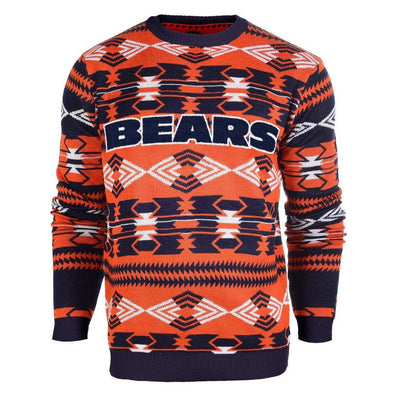 Forever Collectibles NFL Men's Chicago Bears 2015 Aztec Ugly Sweater