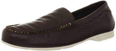Rockport Men's Laguna Road Venetian Driving Shoes Slip On Shoe, Dark Brown