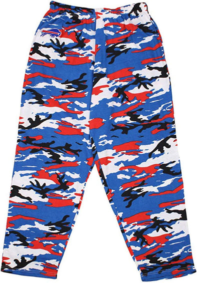 Zubaz NFL Football Men's Buffalo Bills Camo Pants