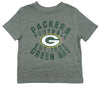 NFL Football Toddlers Green Bay Packers T-Shirt - Gray - FLAWED