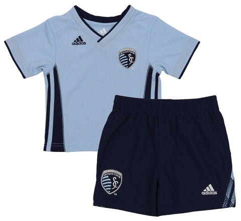 30431c6fe8a ... Chivas US Superstar Creeper Three Piece Set.  9.99. Adidas MLS Infant  Sporting Kansas City Tip Off Shirt   Shorts Set