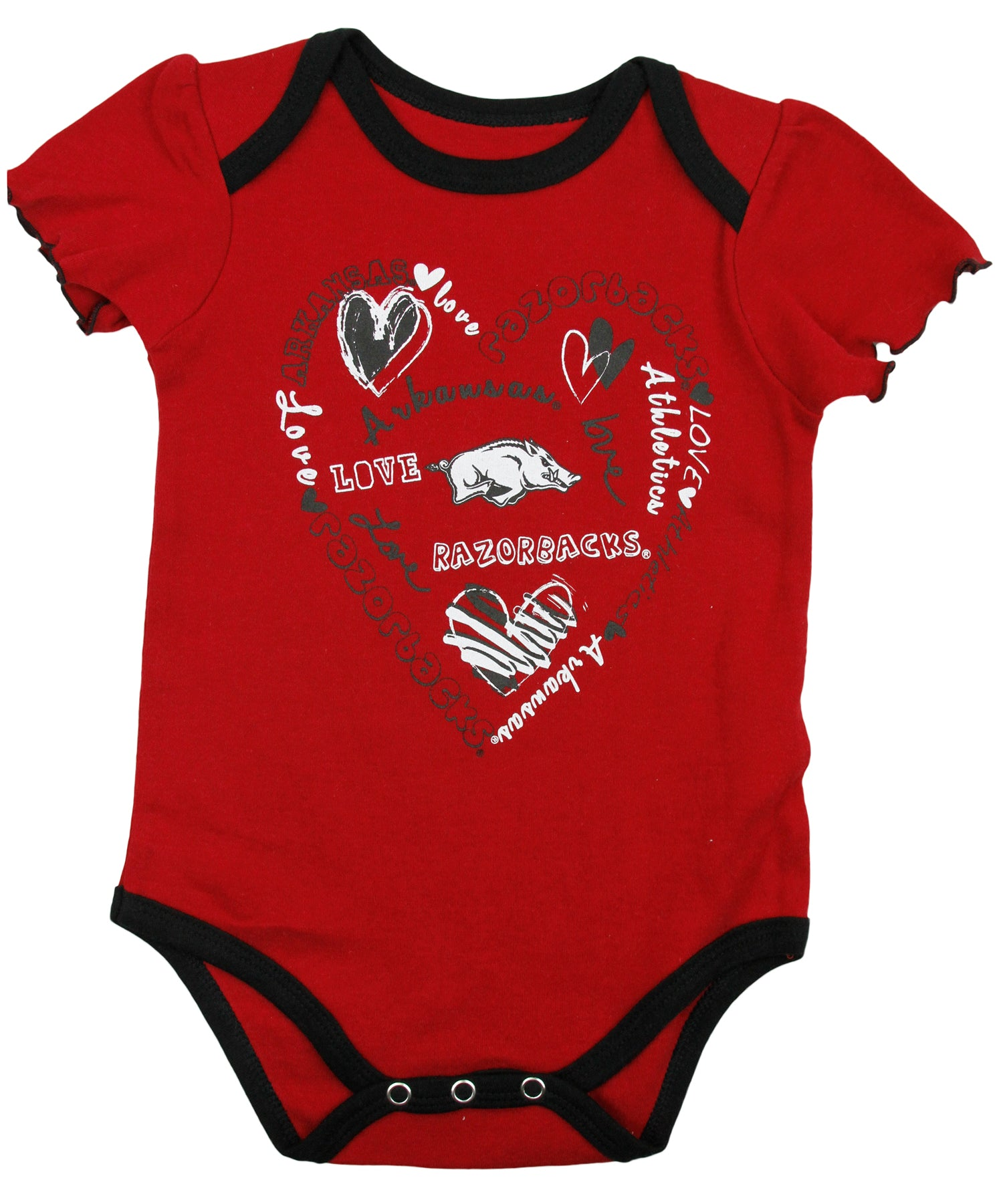NFL TEAM APPAREL Chicago Bears Baby Girl Creeper Body Suit 0-3 3-6 18 Months