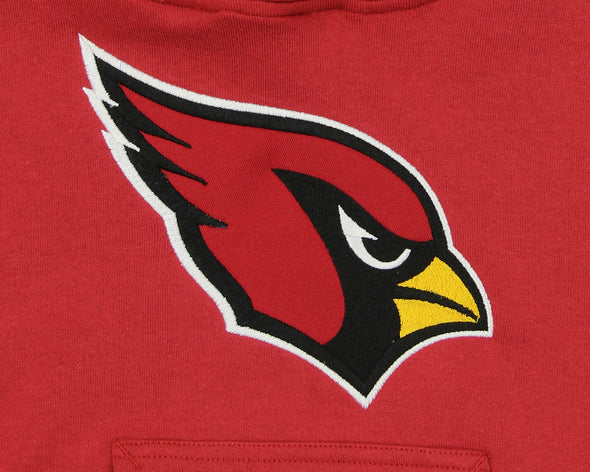 OuterStuff NFL Kids Arizona Cardinals Primary Pullover Hoodie, Red