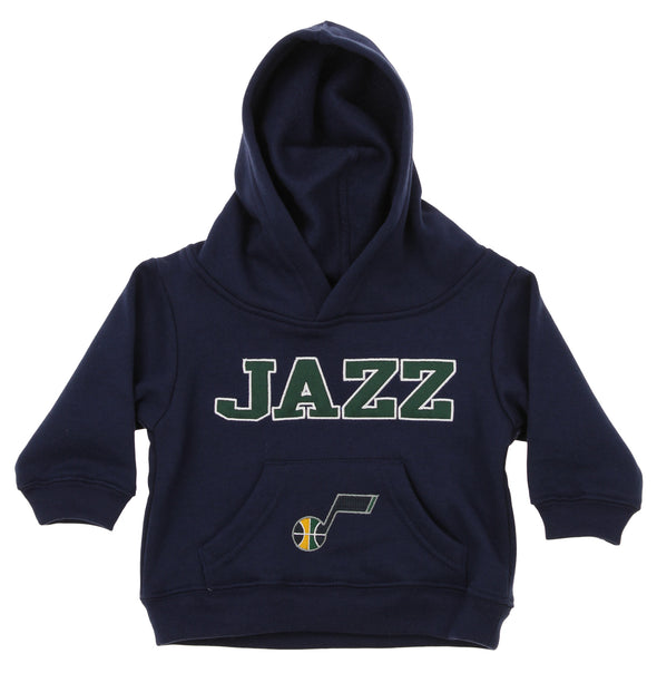 OuterStuff NBA Infant and Toddler's Utah Jazz Fleece Hoodie, Navy