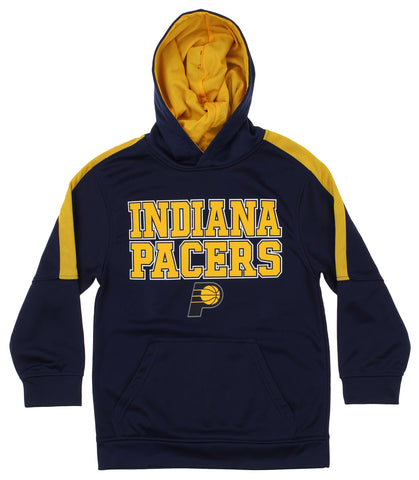 435ec18fe34 OuterStuff NBA Youth Indiana Pacers Fleece Pullover Hoodie, Navy