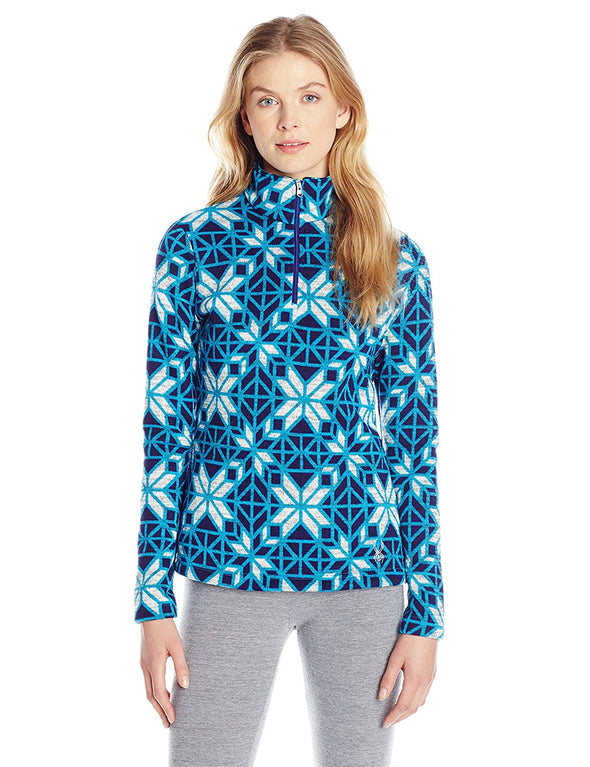 Spyder Women's Alpine Chic T-Neck Shirt