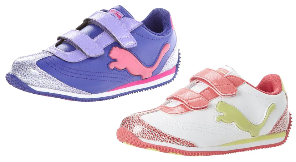 542bda127fa5 PUMA Speeder Illum Glamm V Toddler Little Kid Big Kid Light-Up Sneaker Shoes