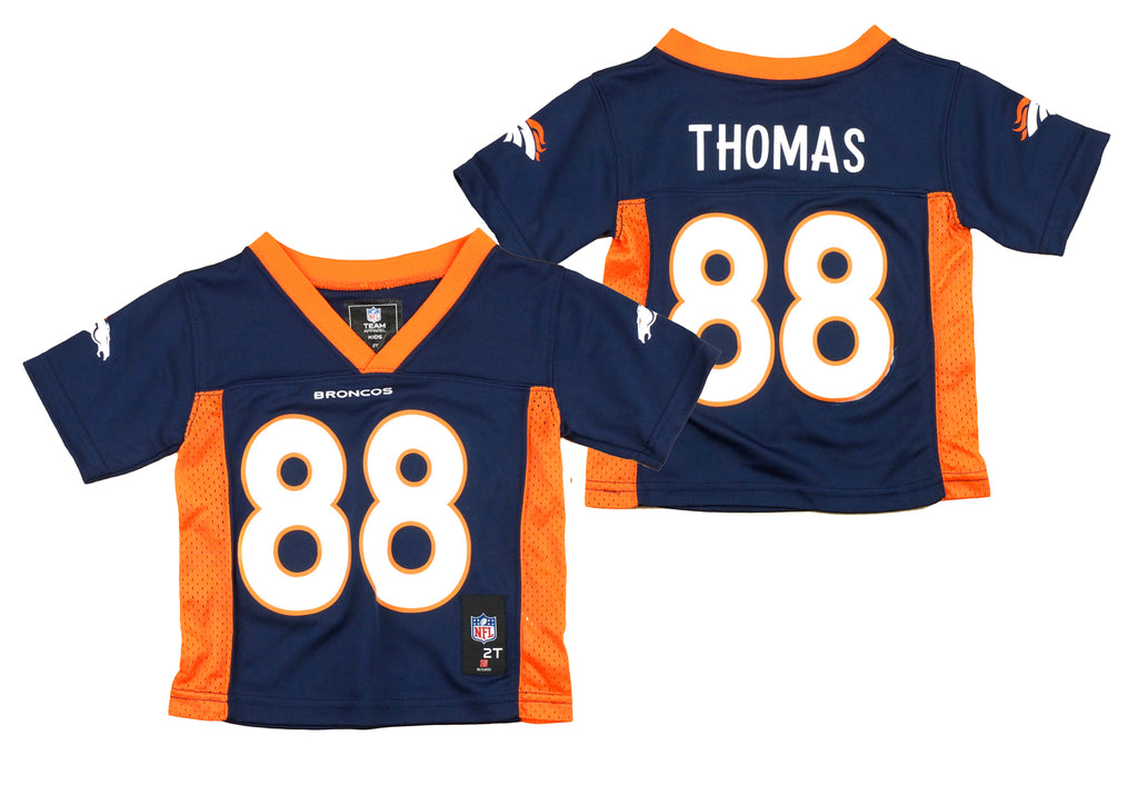pretty nice 0938d a96e5 Denver Broncos Demaryius Thomas #88 NFL Toddlers Performance Jersey - Navy