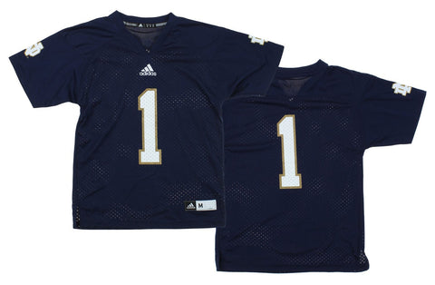 Adidas NCAA Youth Notre Dame Fighting Irish Team Color Replica Jersey, Navy