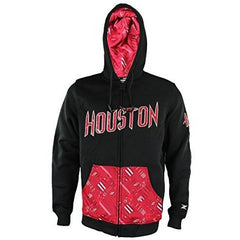 Zipway NBA Men's Houston Rockets Signature Basics Full Zip Fleece Hoodie