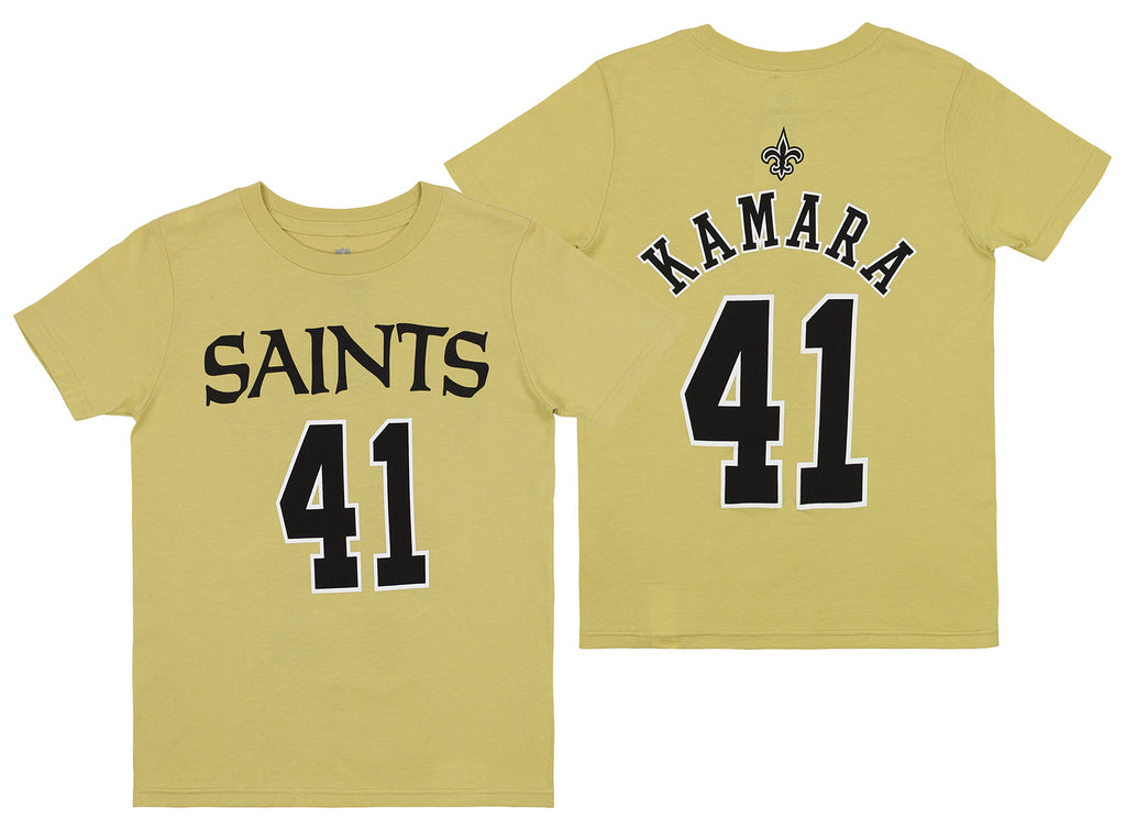 the best attitude 6e8ca cb16c Outerstuff NFL Youth New Orleans Saints Alvin Kamara #41 Player Tee