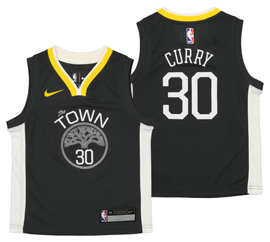 Nike NBA Kids Golden State Warriors Stephen Curry #30 Statement Jersey