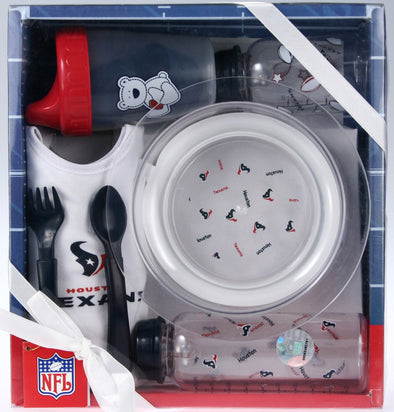 Houston Texans NFL Football Newborn Baby Necessities Gift Set [Baby Product]