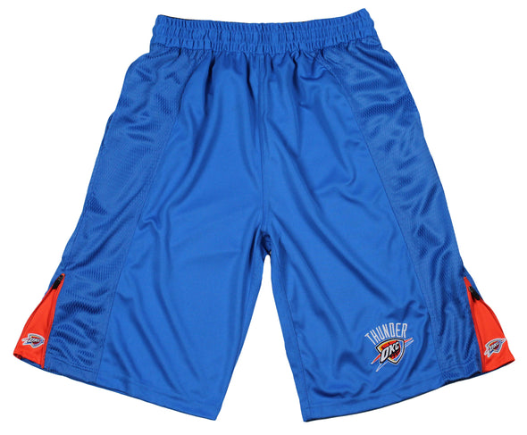 Zipway NBA Men's Oklahoma City Thunder Lightweight Microfiber Shorts, Blue