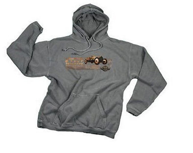 Indianapolis Motor Speedway Men's Fleece Hoodie Hooded Sweatshirt - Gray
