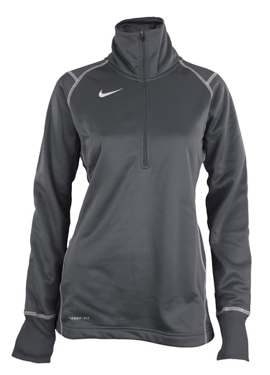 Nike Womens 1/4 Zip Performance Thermafit Pullover, Color Options